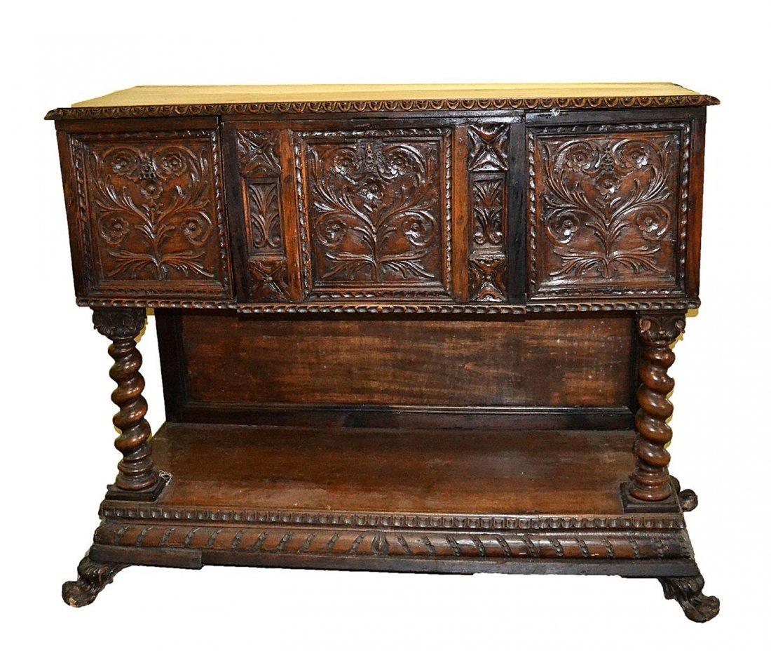 142: Antique Italian Cabinet
