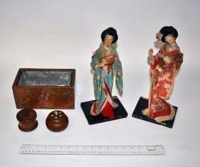 Assorted Decorative Articles (5 Items)