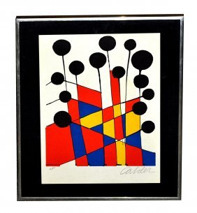 Alexander Calder 1898-1976 American