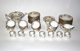 8: Czechoslovakian Tea & Dessert Service [46 pieces]