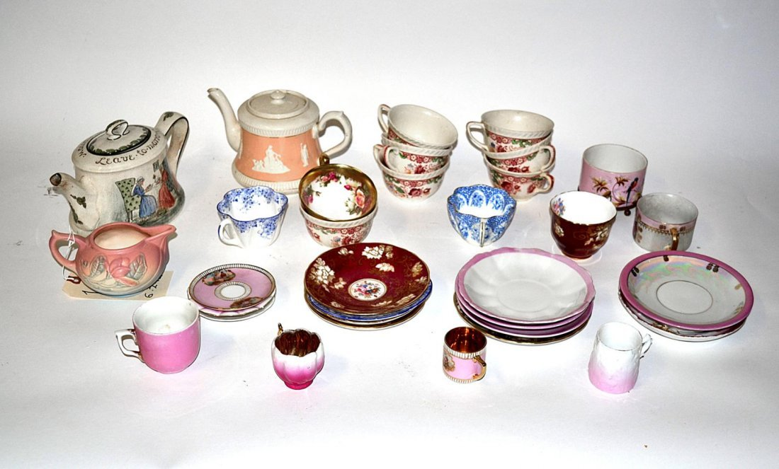 12: Assorted Tea Service Articles [30+ Items]