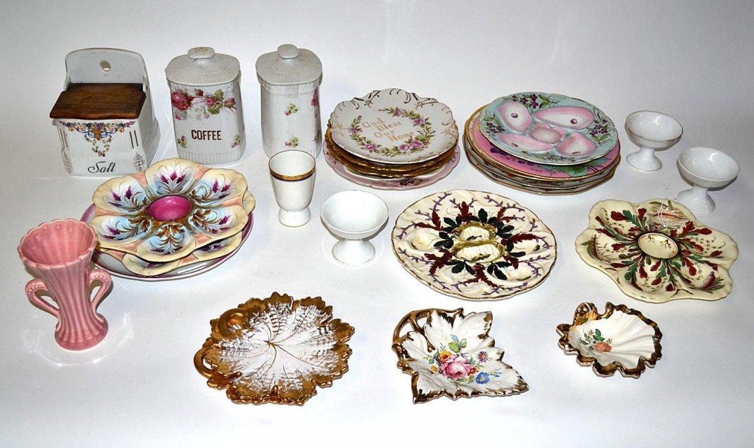 13: Assorted Porcelain & Ceramic Dinnerware