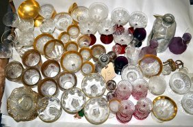 15: Assorted Glass & Crystal