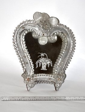 21: Venetian Glass Mirror