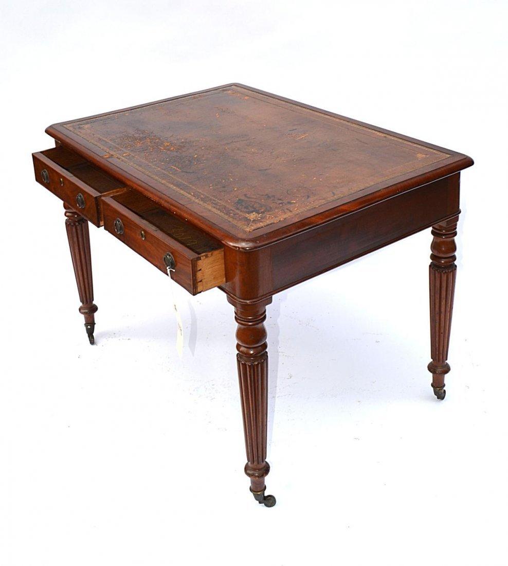 148: Late Regency Mahogany Writing Desk - 4