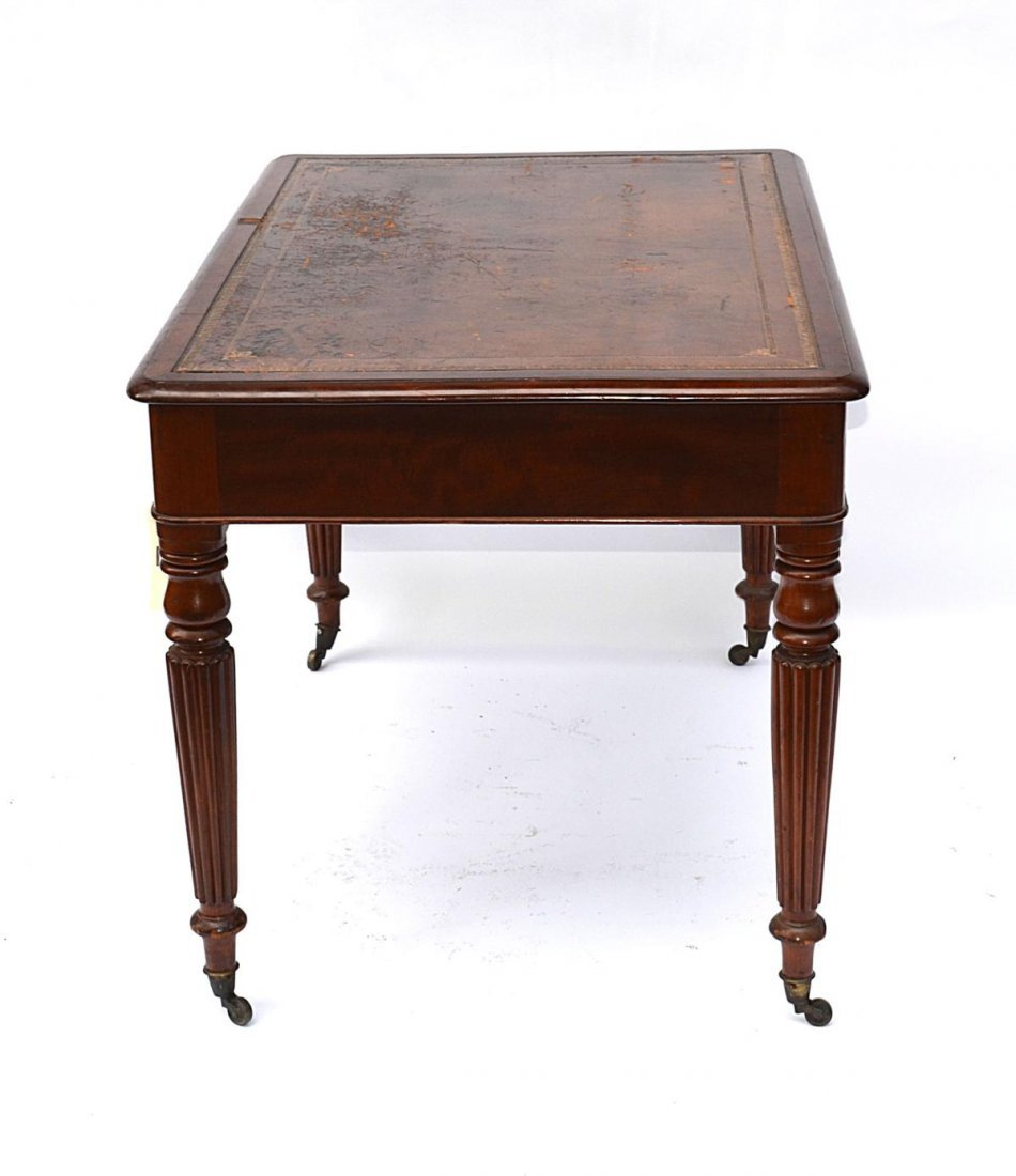 148: Late Regency Mahogany Writing Desk - 5