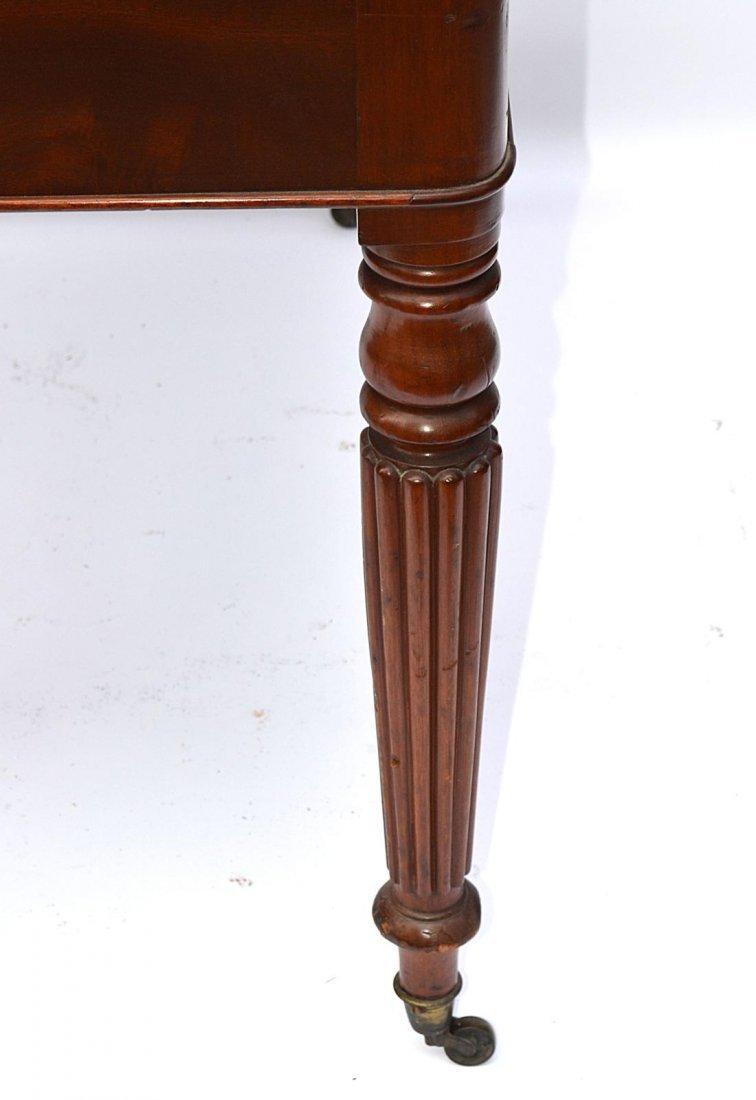 148: Late Regency Mahogany Writing Desk - 6