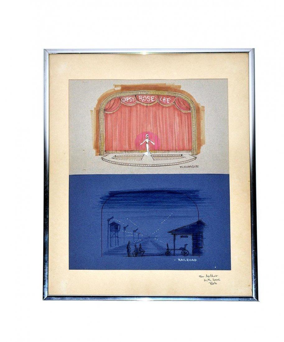 "487: Robert Randolph, ""Gypsy"": Two Set Designs"