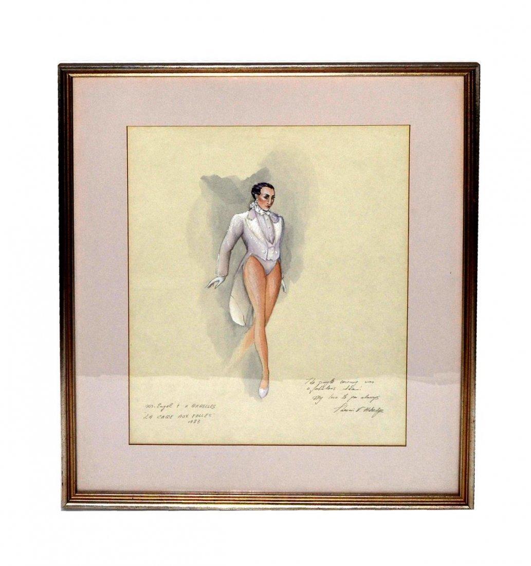 """489: Theoni V. Aldredge """"La Cage..."""" Costume Design"""