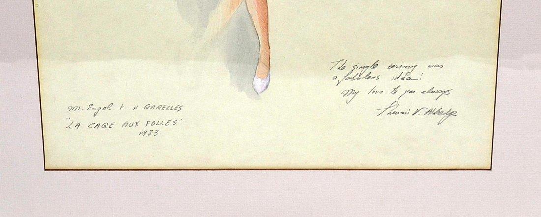 """489: Theoni V. Aldredge """"La Cage..."""" Costume Design - 3"""