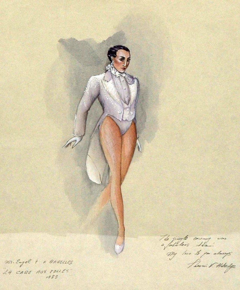 """489: Theoni V. Aldredge """"La Cage..."""" Costume Design - 5"""