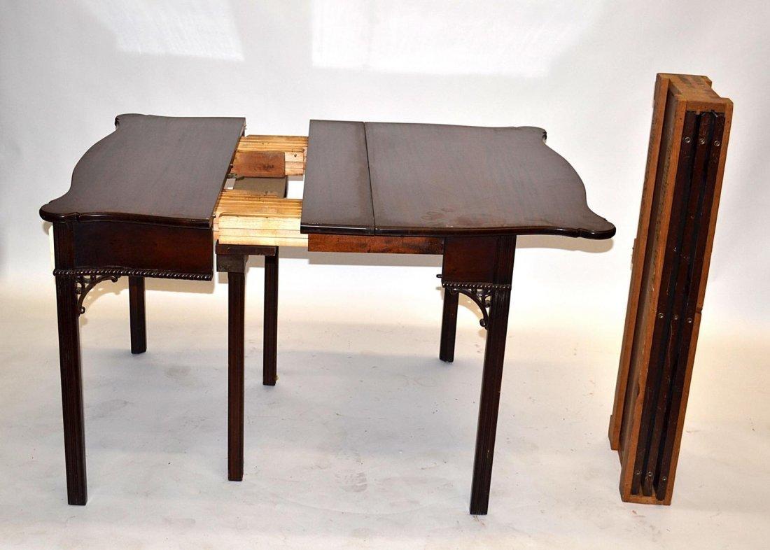 61: Mahogany Lift-Top Table [Three Leaves]