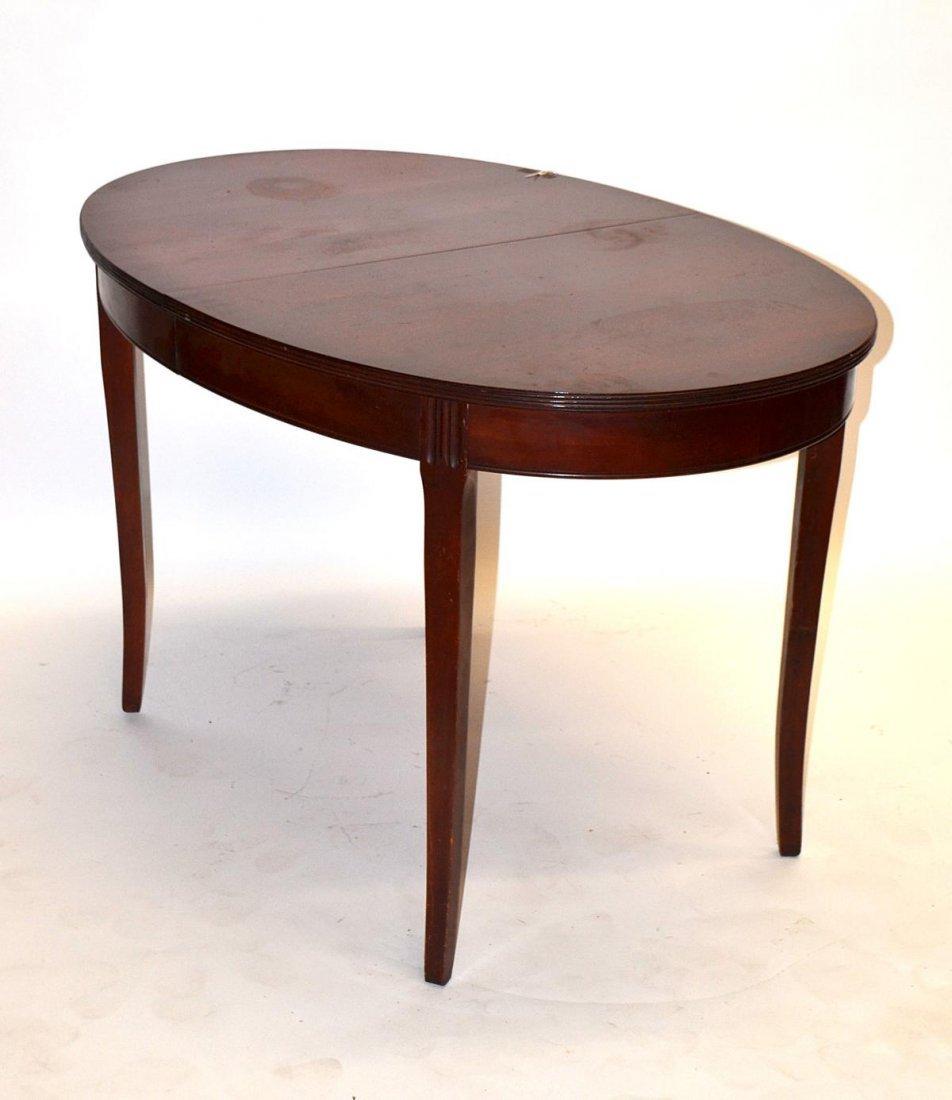 62: Mahogany Dining Table