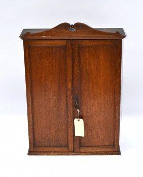 Oak Hanging Cabinet