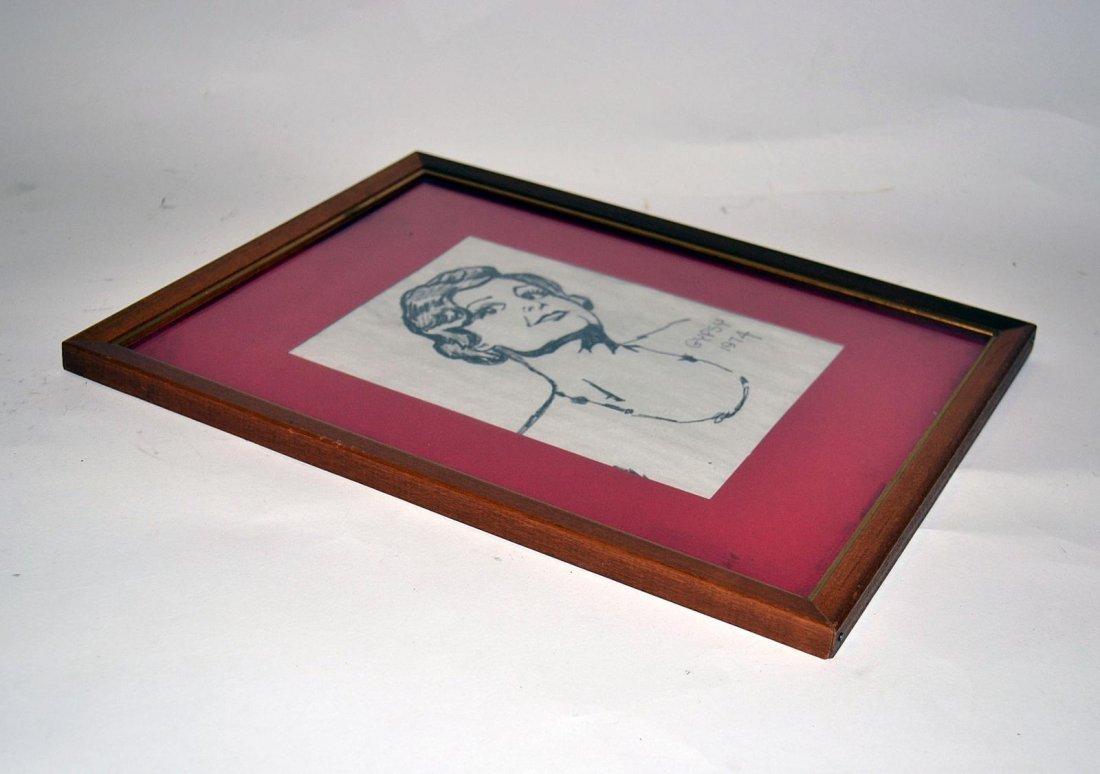 """496: """"Gypsy"""" - Pencil Portrait: Angela Lansbury - 3"""