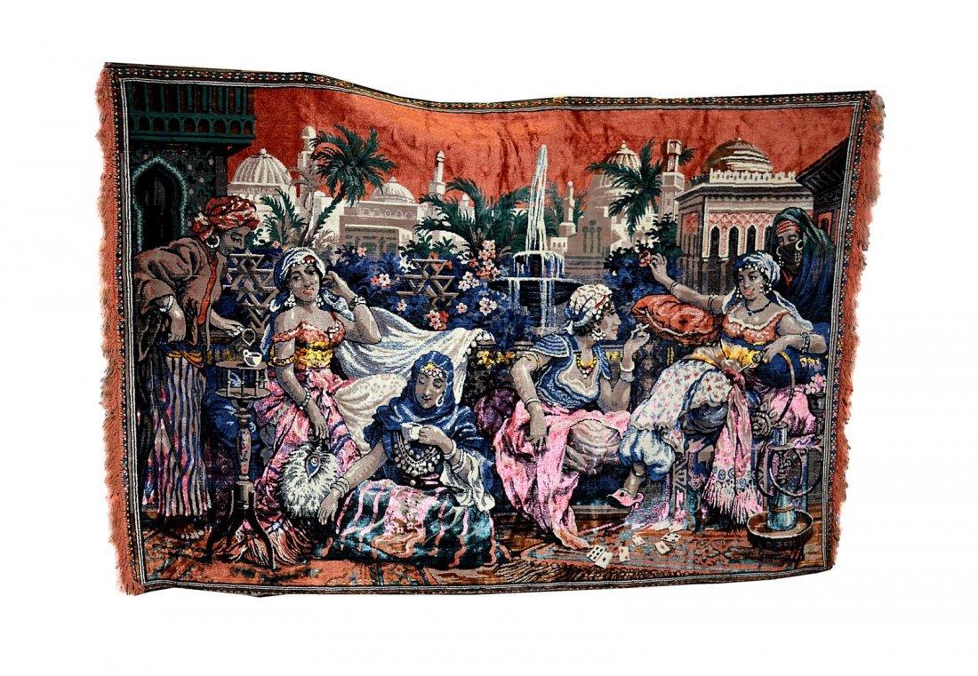 76A: Harem Scene Tapestry