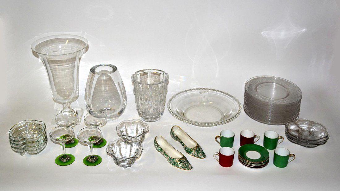 Assorted Glass & Ceramic Articles [30+]