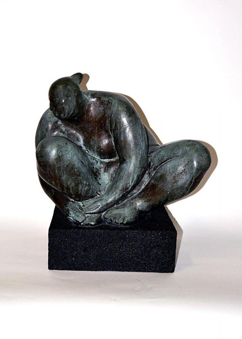 401: Zuniga Female Bronze, with Certificate