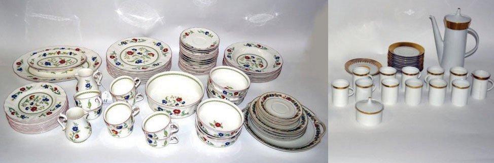 4: Assorted Dinnerware