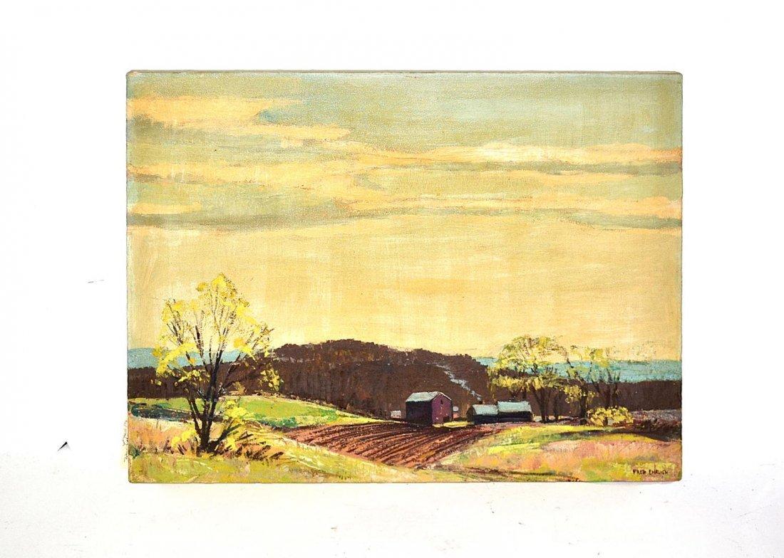 24: Fred Ehrlich - Landscape with Farm