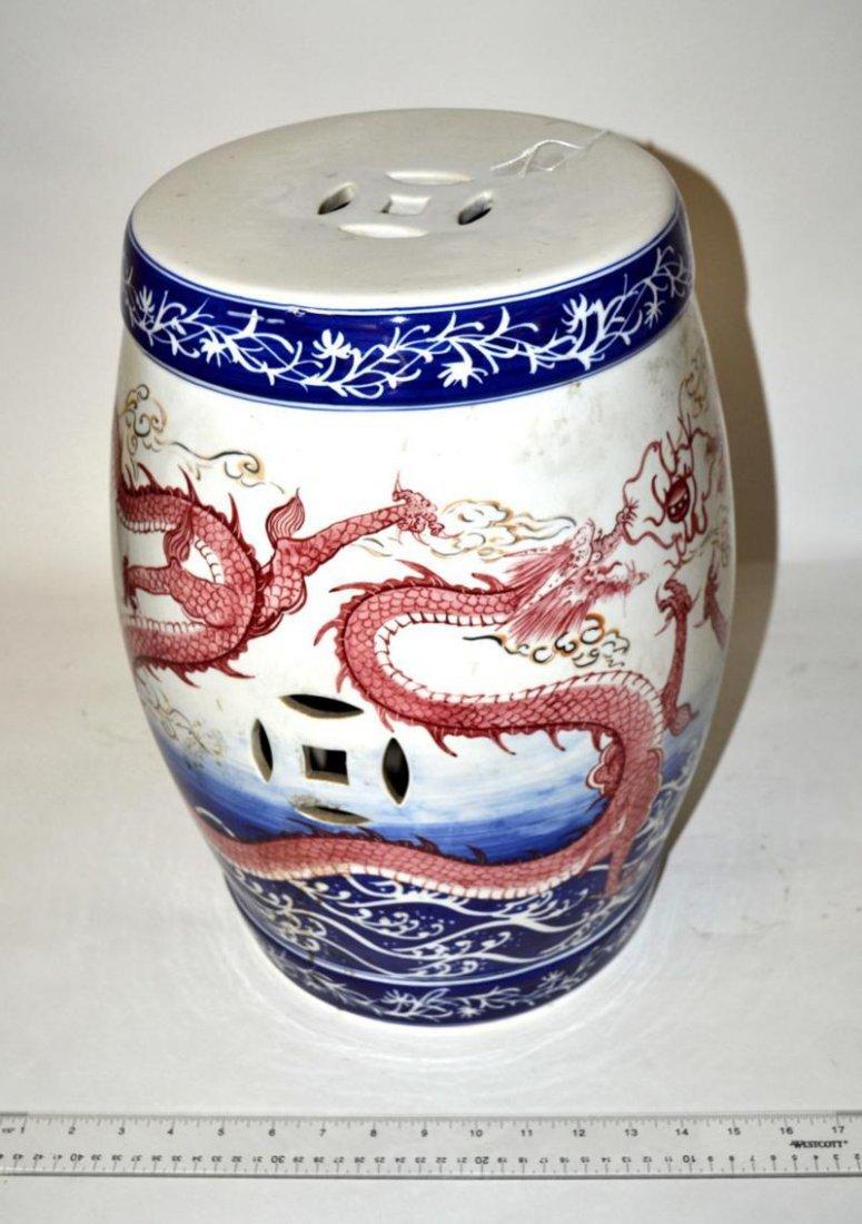 6: Chinese Ceramic Garden Stool