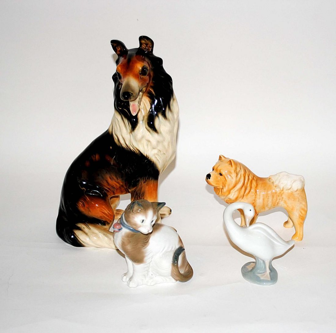 21: English & Continental Porcelain Animals (4)