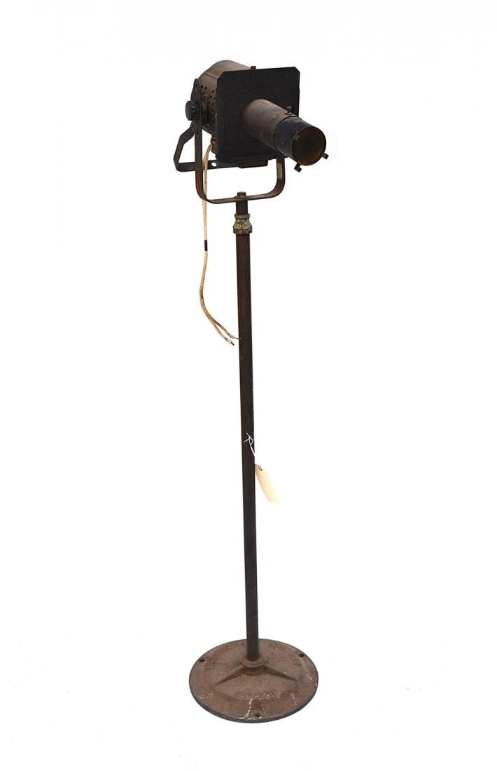 19R: Vintage NYC Theatrical Stage Light