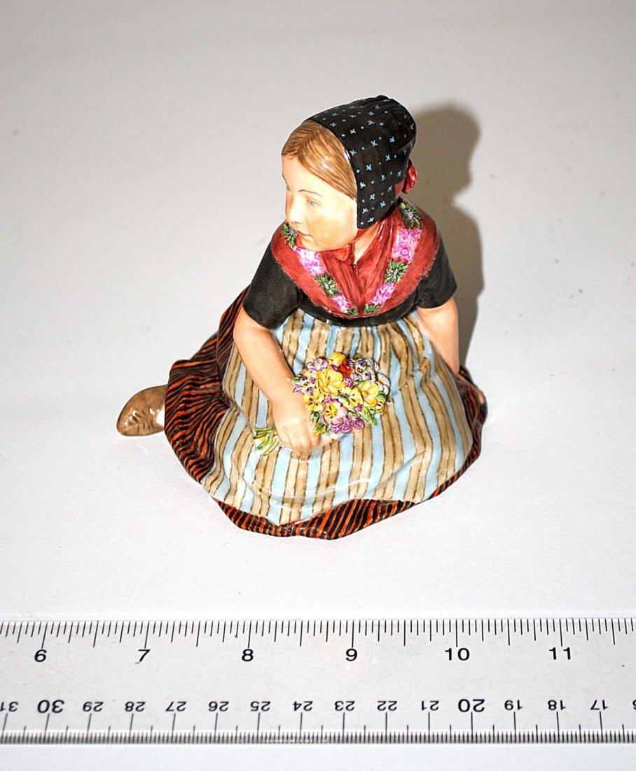 87: Royal Copenhagen Porcelain Girl