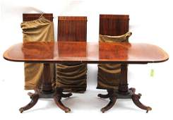 169: Regency Style Dining Table