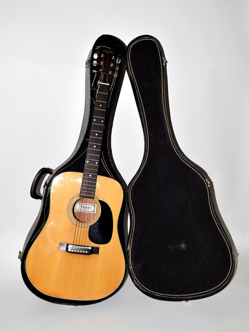 """64: """"Angelica"""" Acoustic Guitar"""