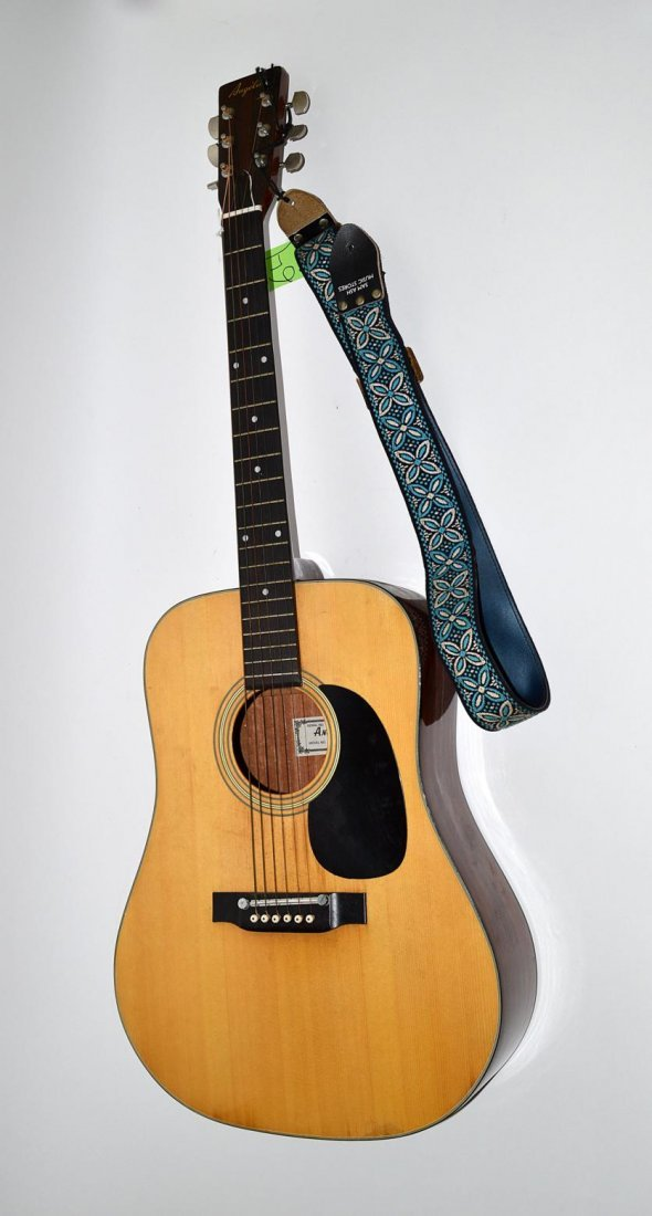 """64: """"Angelica"""" Acoustic Guitar - 3"""