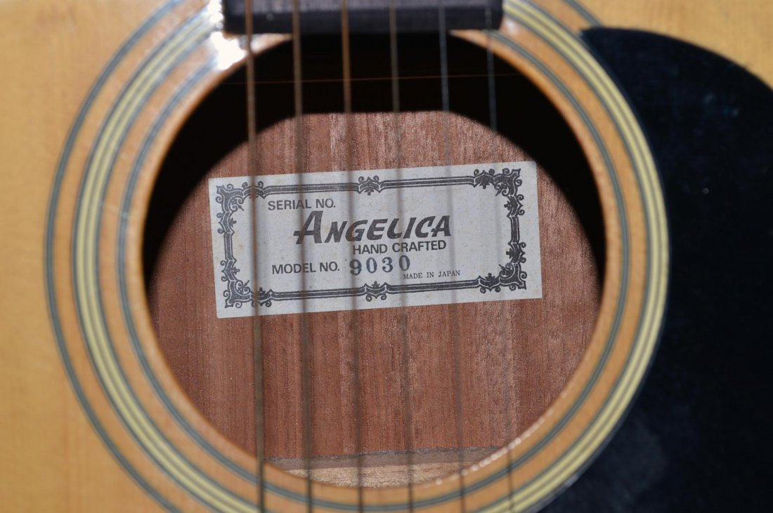 """64: """"Angelica"""" Acoustic Guitar - 4"""
