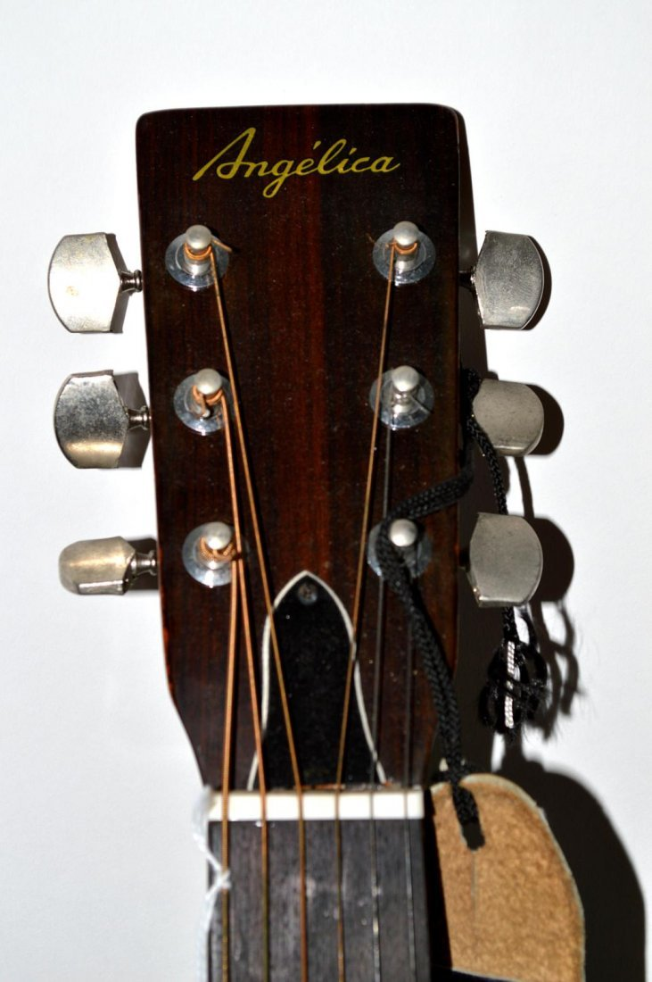 """64: """"Angelica"""" Acoustic Guitar - 5"""