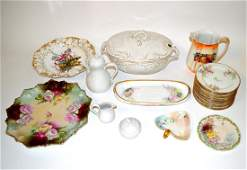 123: Assorted German & French Porcelain