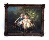 400: After Francois-Hubert Drouais Oil on Canvas