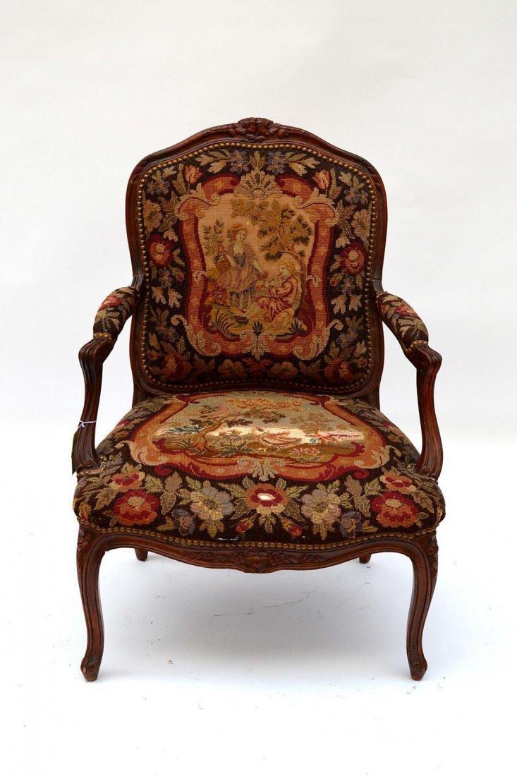4: Louis XV Style Armchair