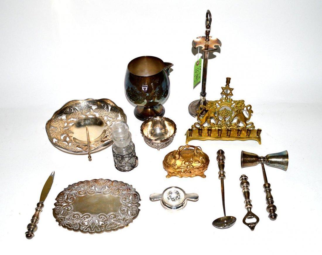 11: Decorative Mixed Metal Lot