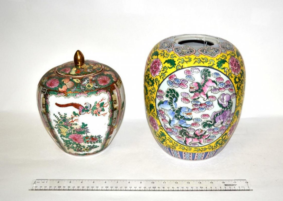 12: Two Ginger Jars