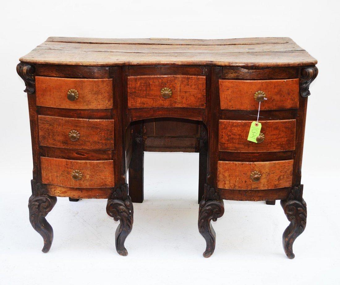 14: Antique Italian Desk
