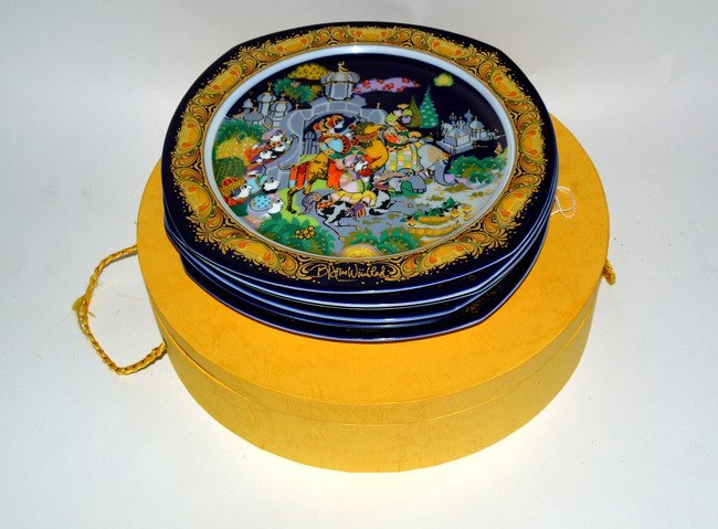296: Bjorn Wiinblad Decorative Plates & Others