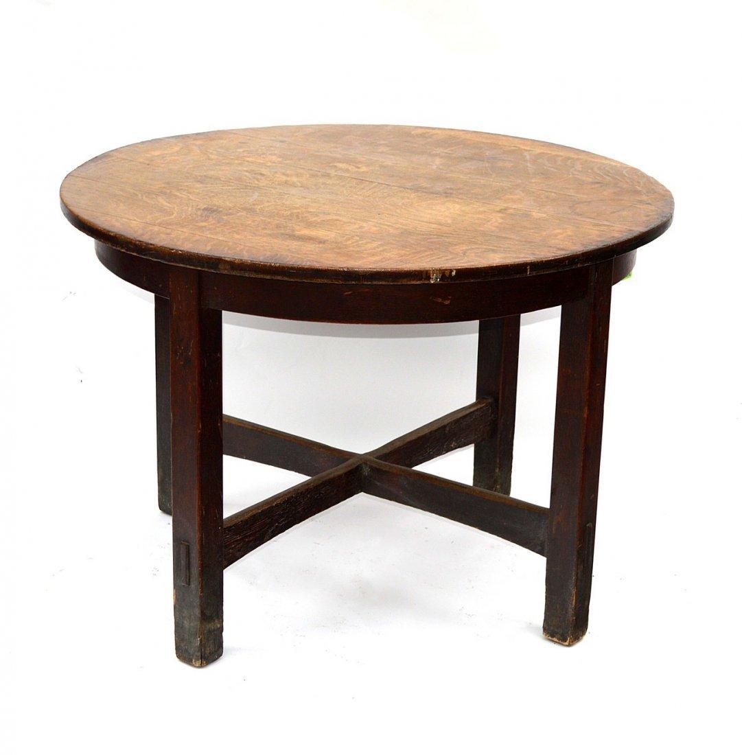 1: L & JG Stickley Center Table