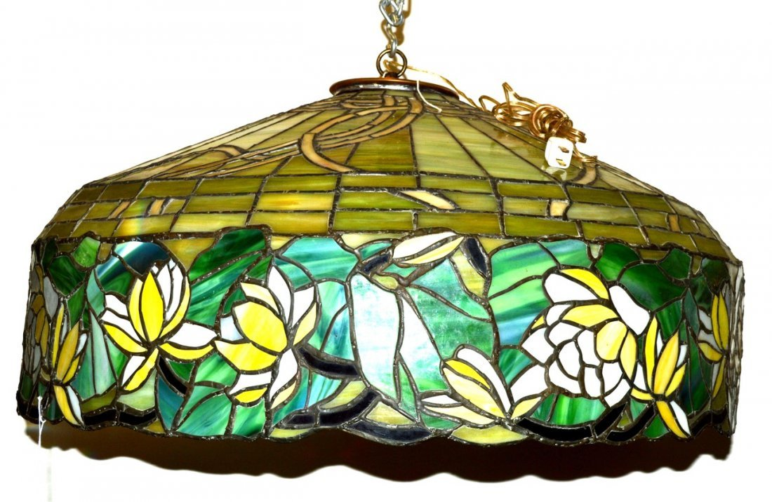 4: Tiffany Style Water Lily Shade