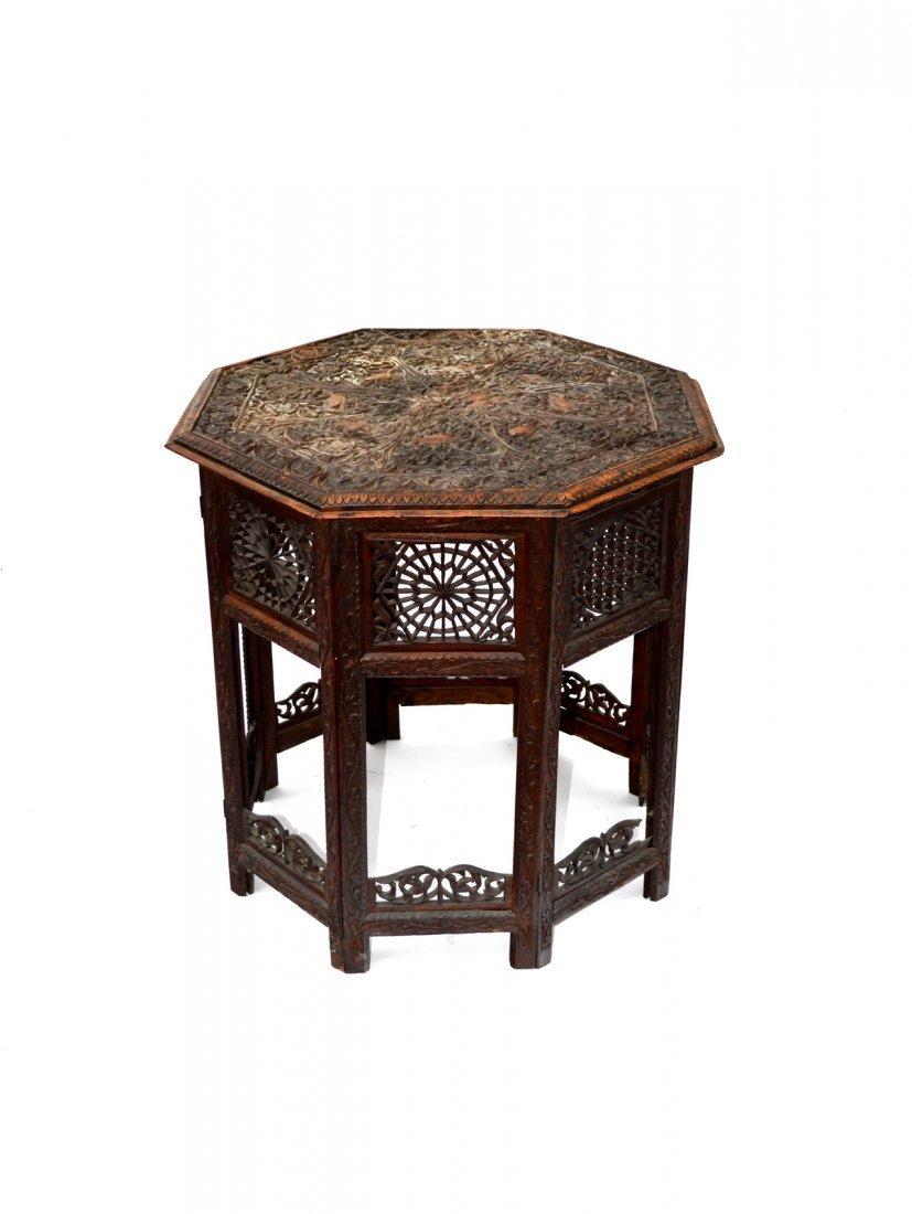 5: Ornate Octagonal Table