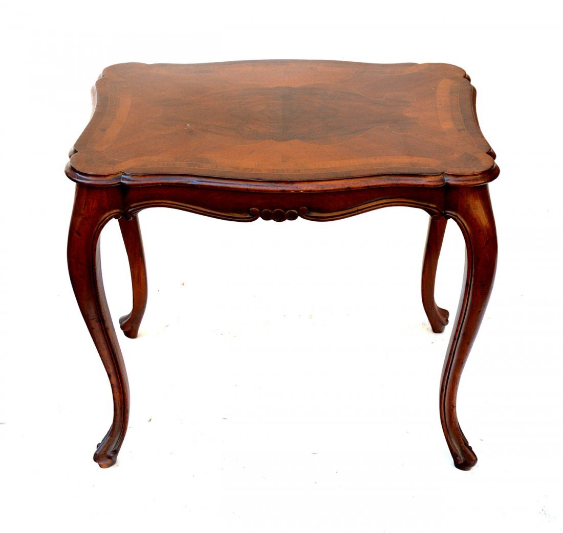 9: Georgian Style Occasional Table