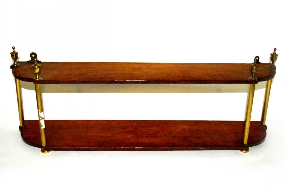 16: Pair of Two Tier Hanging Shelves