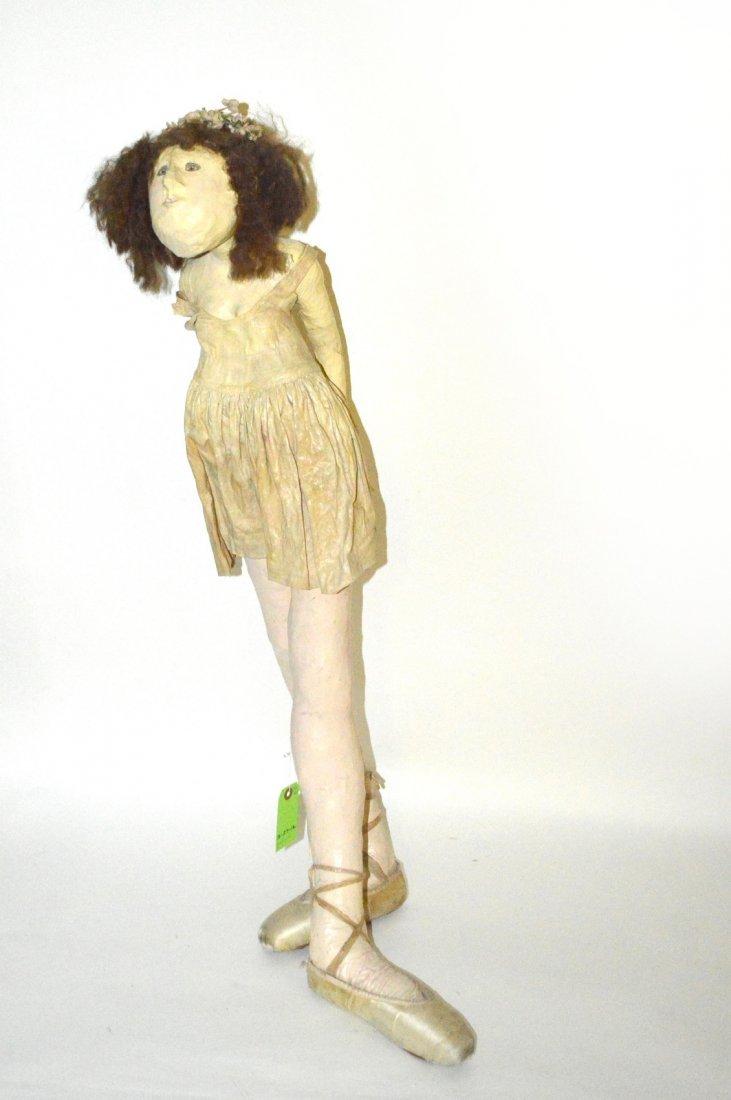 21: Whimsical Ballerina Doll Sculpture