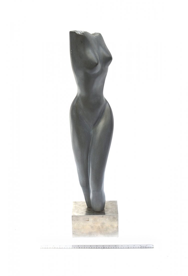 5: Modern Abstract Soapstone Sculpture