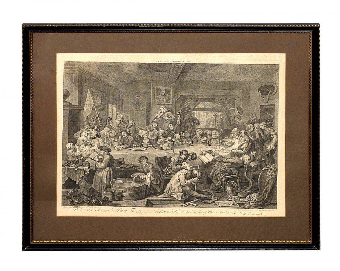 13: Engraving After Wm Hogarth