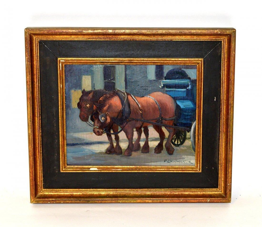 15: Paul Longenecker  O/B Horses & Buggy