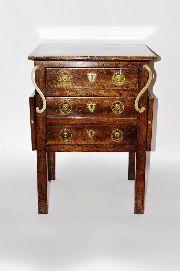 20: Don Russeau NY Two Drawer Stand